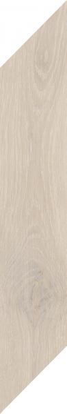 Zdjęcie Płytka podłogowa Paradyż Heartwood Crema Chevron Prawy Mat 9,8×59,8 cm