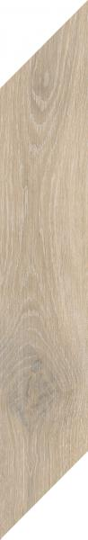 Zdjęcie Płytka podłogowa Paradyż Heartwood Latte Chevron Prawy Mat 9,8×59,8 cm