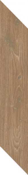 Płytka podłogowa Paradyż Heartwood Toffee Chevron Lewy Mat 9,8x59,8 cm