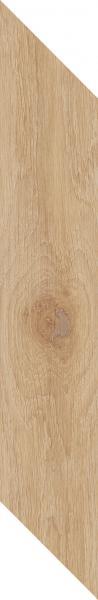 Płytka podłogowa Paradyż Heartwood Honey Chevron Lewy Mat 9,8x59,8 cm