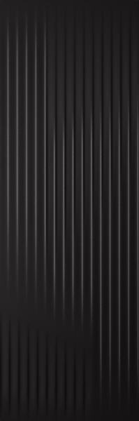 Płytka ścienna Paradyż Cold Princess Black Struktura 39,8x119,8 cm