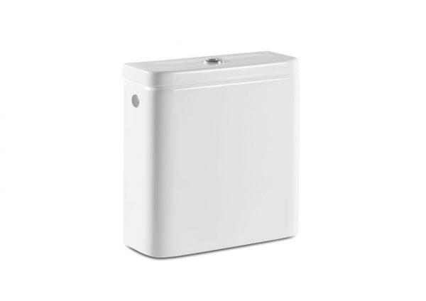 Zdjęcie Zbiornik WC do kompaktu Rimless Roca Gap Square biały A341731000