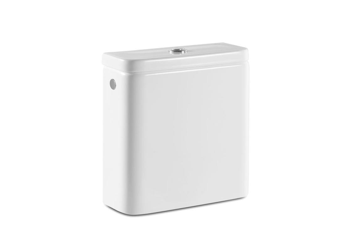 Zbiornik WC do kompaktu Rimless Roca Gap Square biały A341731000