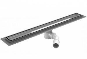 Odpływ liniowy z kołnierzem Wiper Premium 700 mm WPOLP700 @