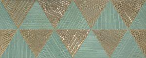 Płytka dekoracyjna Tubądzin Goldgreen mono 74,8x29,8 cm