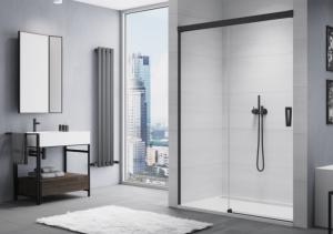 Drzwi prysznicowe lewe rozsuwane SanSwiss Cadura 110x200 cm CAS2G1100607