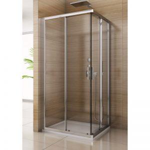 Kabina prysznicowa SanSwiss Salia 120x80 cm szkło przezroczyste SAE280125007 @
