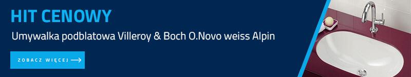 Umywalka podblatowa Villeroy & Boch O.Novo weiss Alpin 41626001