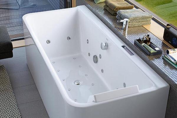 Wanna akrylowa Duravit P3 Comforts z hydromasażem