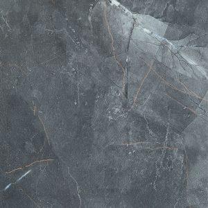 Płytka podłogowa Tubądzin Brainstorm black LAP 59,8x59,8 cm