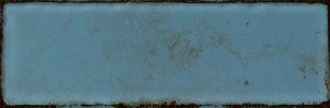 Płytka ścienna Tubądzin Curio blue mix B STR 23,7x7,8 cm