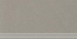 Stopnica frezowana naturalna Nowa Gala Concept 13 ciemny szary 29,7x59,7