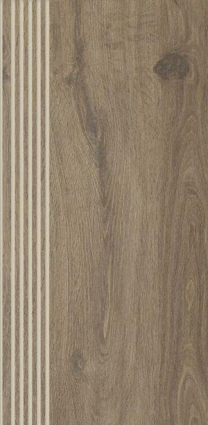 Stopnica prosta nacinana Paradyż Aveiro Beige Mat 29,4X59,9 cm