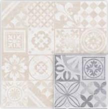 Gres szkliwiony Nowa Gala Estra Decor beige 59,7x59,7x8,5cm (p)