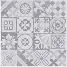 Gres szkliwiony Nowa Gala Estra Decor grafit 59,7x59,7x8,5cm (p)