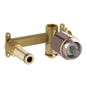 Element podtynkowy baterii umywalkowej ściennej Roca Universal rose gold A5252206RG